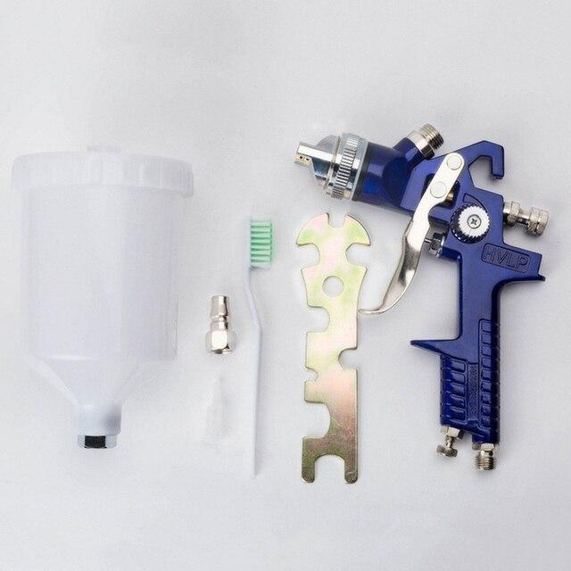 1,4mm 1,7mm 2,0mm aerógrafo HVLP PISTOLA DE PULVERIZACIÓN boquilla de acero H-827 pintura para autos muebles DIY pintura Kit coche herramienta de reparación de automóviles