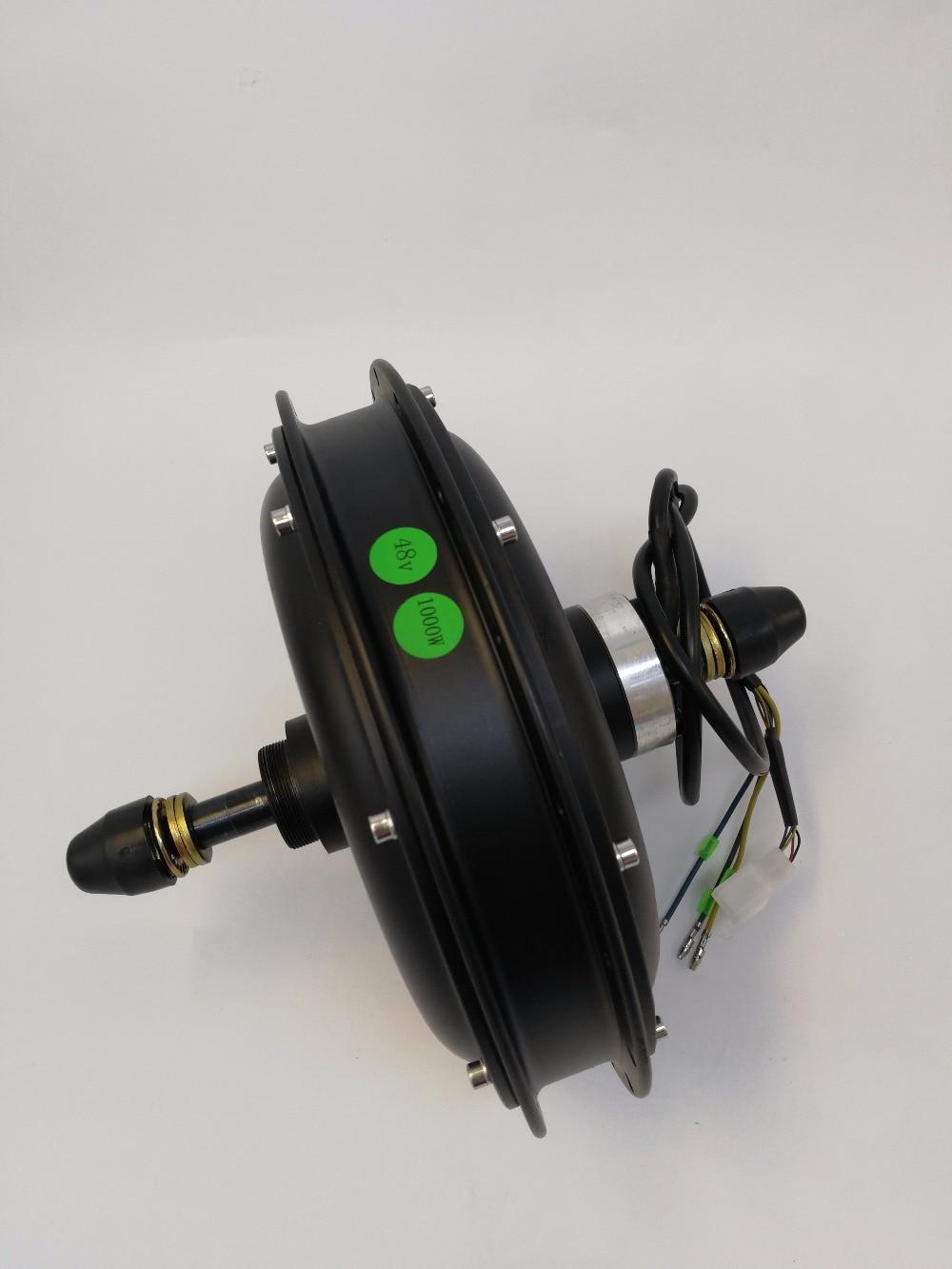 EVFITTING E bike Fatbike Motor 48Volt 1000W Brushless DC Hub Motor for Rear Wheel Fatbike 170mm