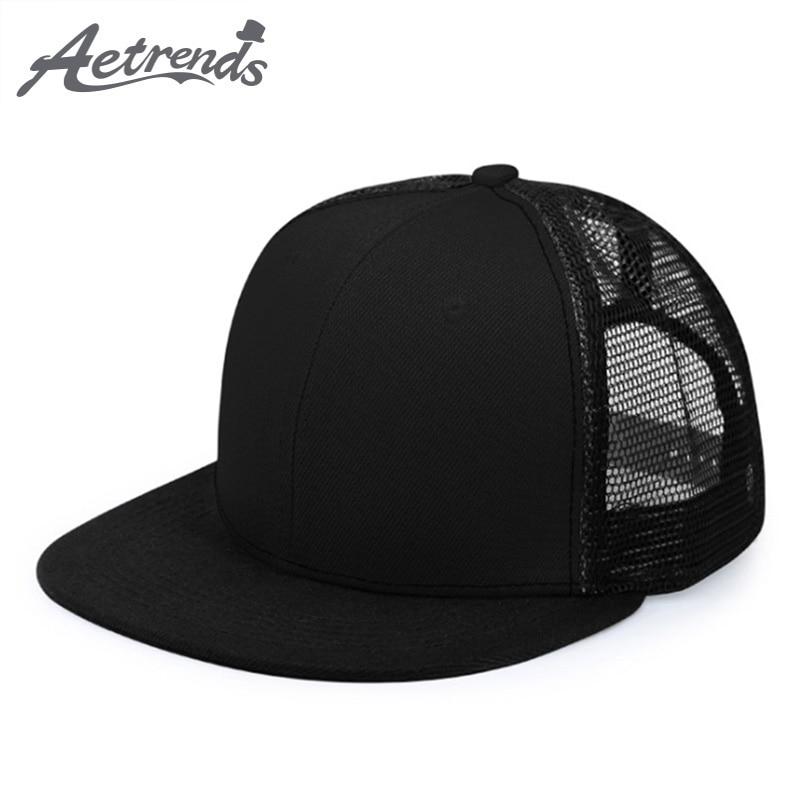 087035ed1e8  AETRENDS  2018 New Summer Mesh Baseball Caps Sport Hip Hop Cap Men or Women