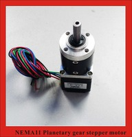 100:1 Nema11 Planet Gearbox Stepper Motor length 28mm Nema 11 Geared Stepper Motor