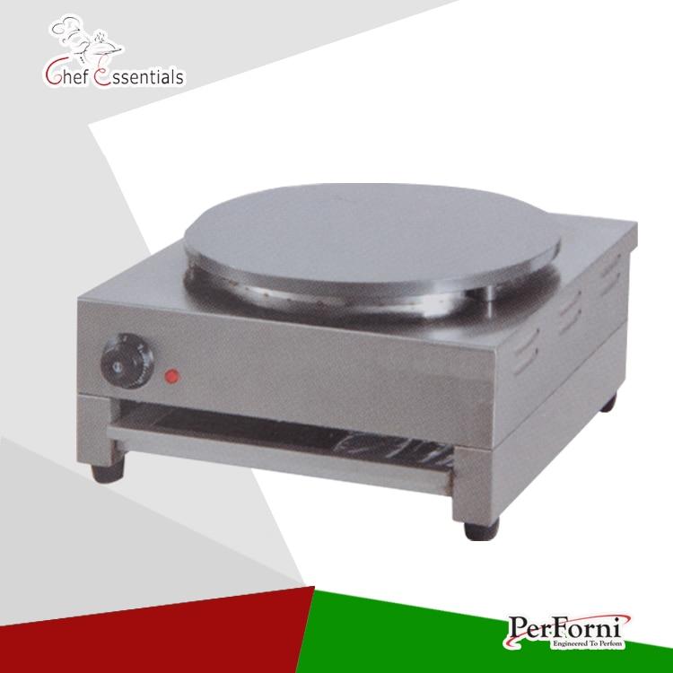 все цены на PKJG-DE1 single Electric crepe maker machine pancake maker crepe grill maker онлайн