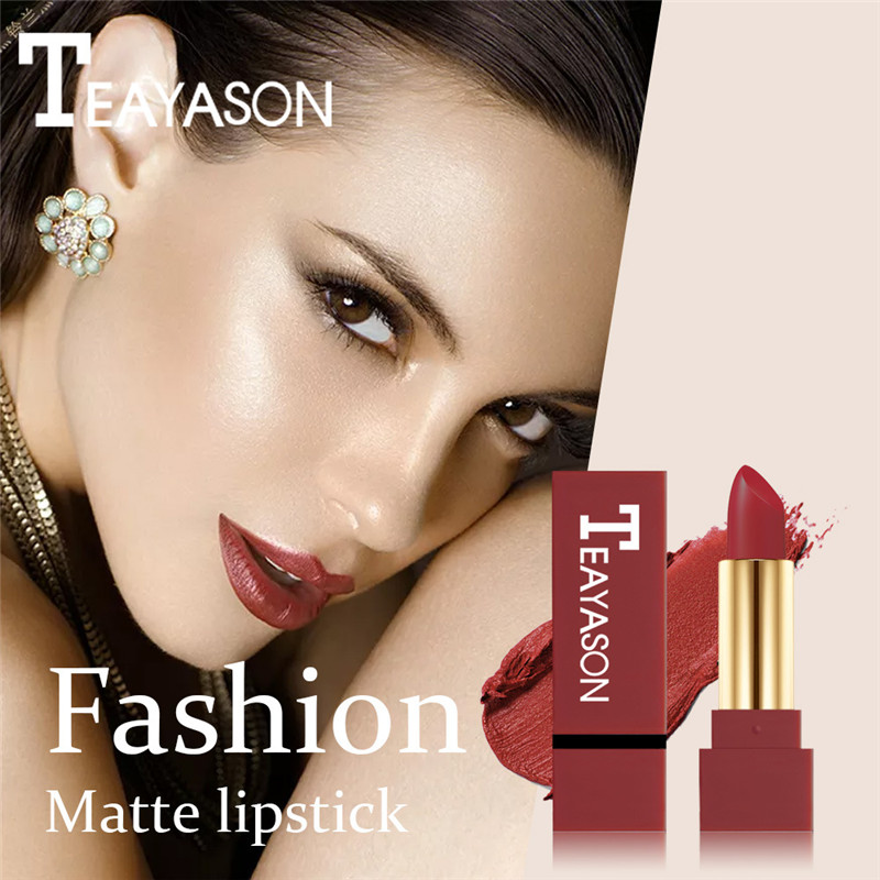 12 Color Waterproof Matte Moisturizer Red Lipstick Long Lasting Lip Gloss Liquid Beauty Make up