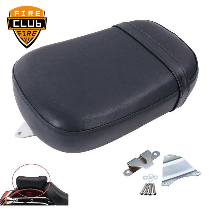 Motorcycle Front Cushion Pillion Passenger Seat Leather Pad Cover For Victory 2017 Octane Models