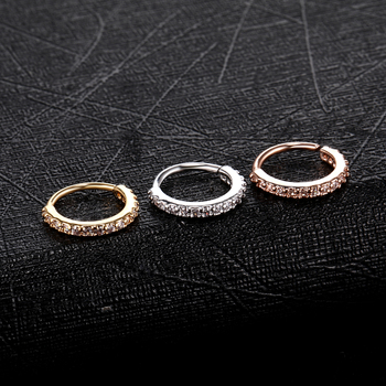 Small Size Real Septum Rings Pierced Piercing Body Jewelry 2