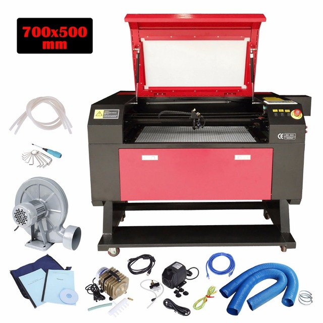 (Ship from USA) 80W CO2 USB Laser Cutter Engraver Cutting Engraving Machine Woodworking Artwork