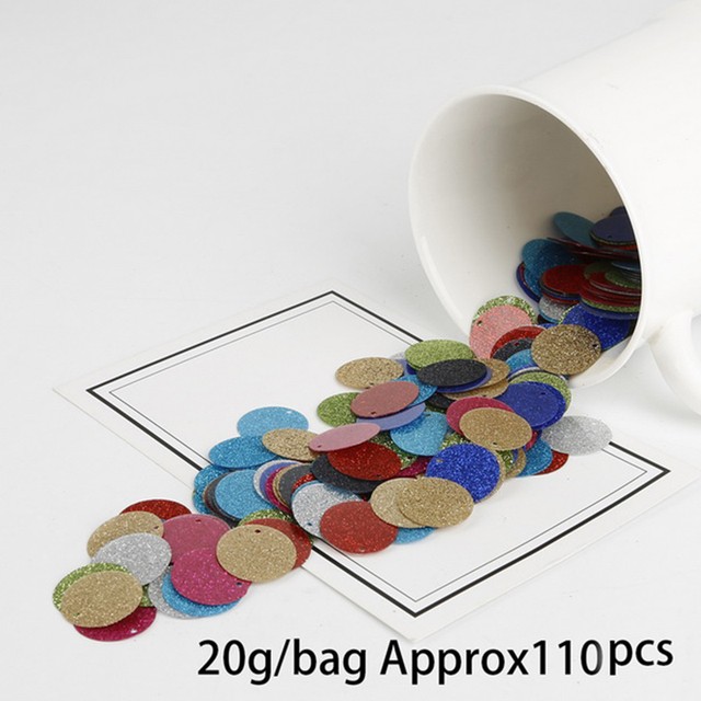 Aliexpress com : Buy Wholesale Mix Colors Fashion Glitter Round shape  Sequin for DIY Jewelry Findings Making Garment Accessories Craft Supplies  from