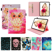 Tablet iPad8 Funda For iPad 9.7 inch 2017 2018 Fashion Mandala Print Leather Magnetic Flip Wallet Case Cover Coque Shell Stand