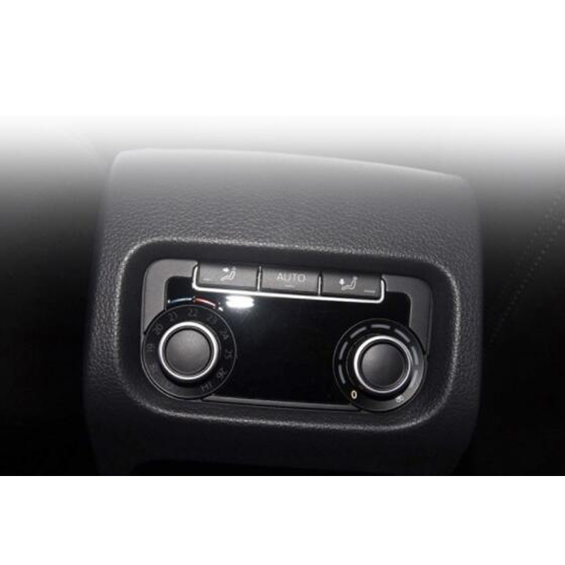 1 шт. для Volkswagen Sharan, задняя крышка ручки кондиционера, декоративная крышка панели, покрывающее кольцо