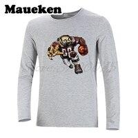 Men Long Sleeve Strong Atlanta Fierce Falcon Autumn Winter T Shirt T Shirt for Falcons fans Comic Cartoon Men's W18010131