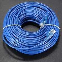 30 М Cat 5 RJ45 Мужчины к Мужчине Сети LAN Кабель UTP интернет Кабель Ethernet Патч Разъем Инструменты Шнур Для ПК Компьютеров Ноутбук