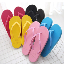 Jinsen Aite New Women Casual Shoes Fashion Beach Breathable Couple Men Flip Flops Candy Colors Summer Outside Slippers JS813