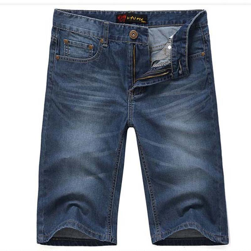 New Arrivals Men Short Jeans New Classic Straight Summer Fashion Cotton Short Men Jeans