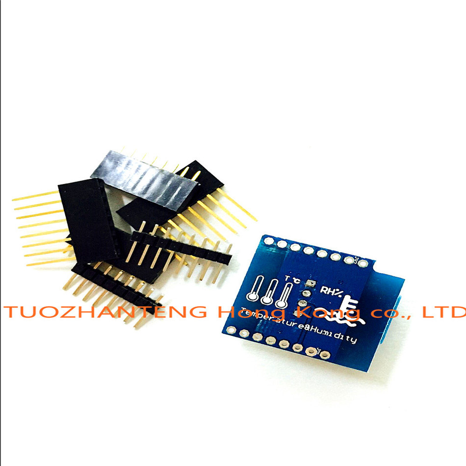 1PCS DHT Shield for WeMos D1 mini DHT11 Single-bus digital temperature and humidity sensor module sensor