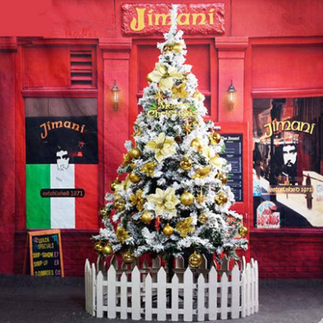 Witte Kerstboom 100 Cm.Us 179 1 10 Off 1 5 M 150 Cm Witte Kerstboom Massaal Spuiten Sneeuw Sneeuwvlok Ornament Kerstboom Encryptie In Bomen Van Huis Tuin Op Aliexpress