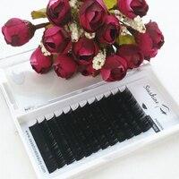 Top Quality South Korea Pandora Individual Lashes All Sizes Volume Eyelash Extensions Lash L C D