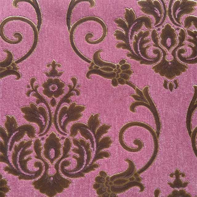 2016 New Chenille Jacquard Fabrics For Sofa Curtain Covers