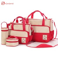 New High Quality 8 Colors Comfortable Convince Soft 5 Each Set Hand Bags Diaper Nappy Durable