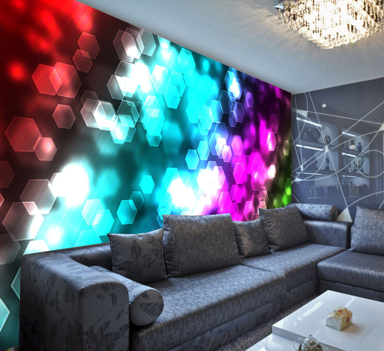 Free Shipping Creative wallpaper bar KTV TV coffee restaurant living room sofa bedroom background colour flower wallpaper mural  free shipping cartoon pattern wallpaper leisure bar ktv lounge living room sofa children room background comics wallpaper mural