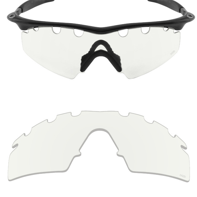 c4c8060f51b Mryok+ Resist SeaWater Replacement Lenses for Oakley M Frame Strike Vented  Sunglasses HD Clear