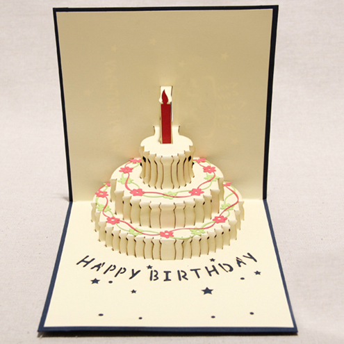 The new three dimensional birthday card diy hand meaning staff the new three dimensional birthday card diy hand meaning staff birthday card greeting card business grade paper carving on aliexpress alibaba group m4hsunfo Images
