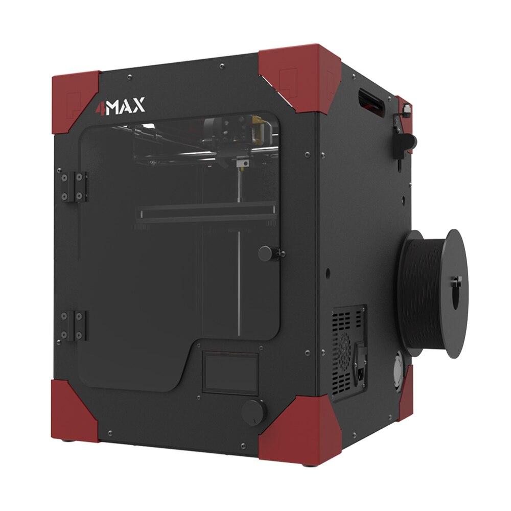 Anycubic FORMAX 3D принтер большие Размеры FDM impresora 4max DIY Kit модульная Дизайн как нить для подарка