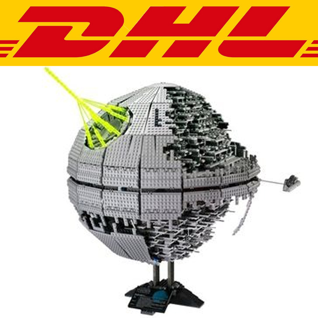 2017 Nueva LEPIN 05026 3449 Unids Star Wars Death Star II Kits de Edificio modelo Bloques Figura Ladrillos Compatibles Juguete Regalo de Los Niños 10143