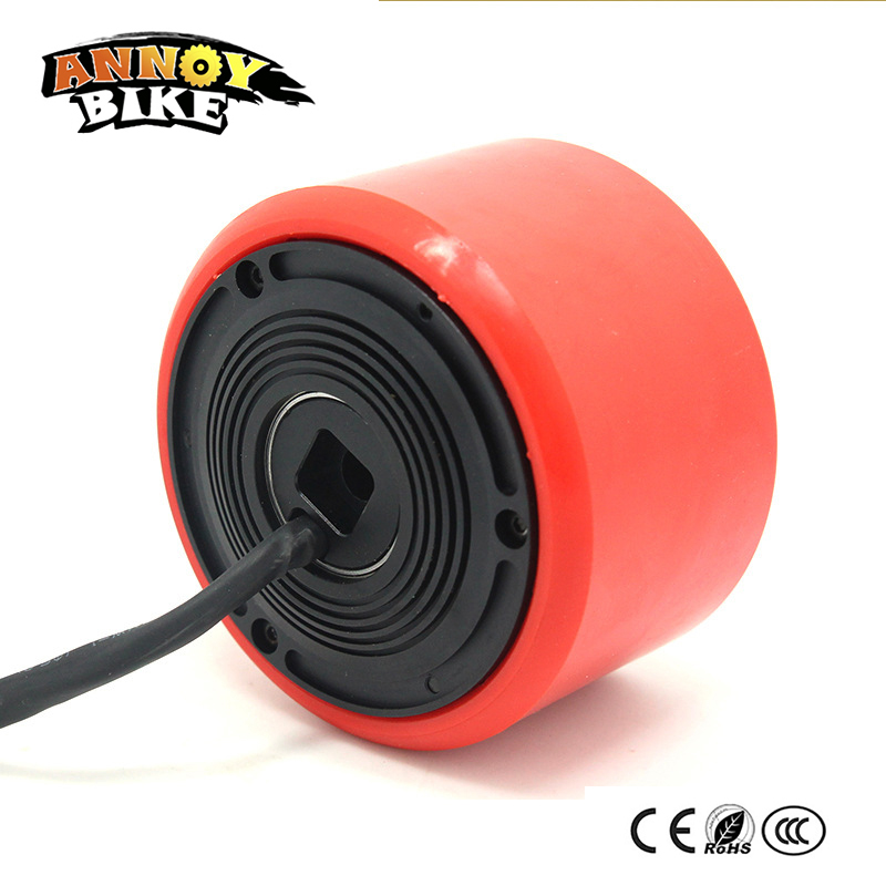 12v 24v 36v 2600rpm/min 3 83mm Skateboard Motor Electric Motor Wheels 200w 250w 260w For Double Drive Skateboard Scooter DIY 2017 new 4 wheels electric skateboard scooter 600w with bluetooth remote controller replaceable dual hub motor 30km h for adults