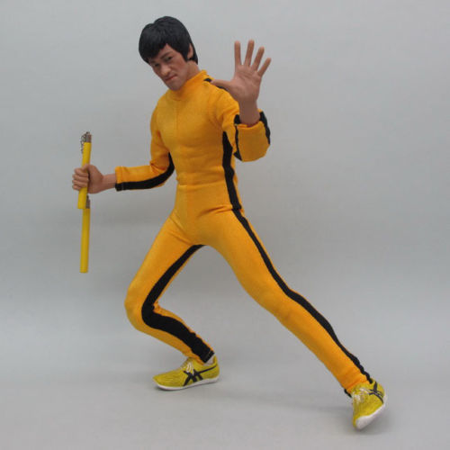 1/6 scale figure doll clothes male Bruce Lee Kung Fu suit for 12 Action figure doll accessories not include doll and other 1486 kung fu master bruce lee pvc action figure collection toys the blind monk lee sin lol action figure legend of the dragon gifts