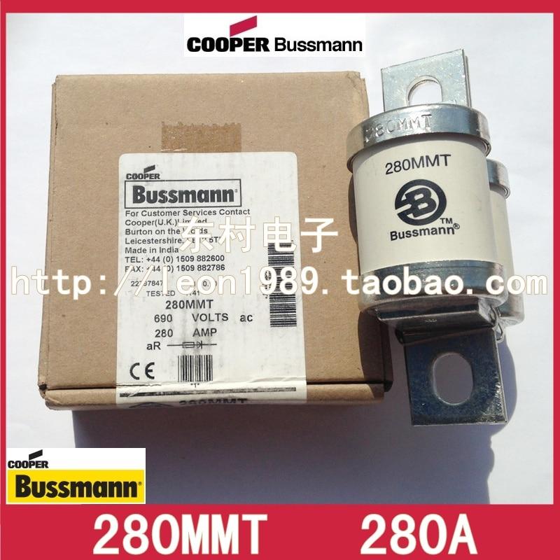 цена на US imports BUSSMANN fuse BS88: 4 fuses 280MMT 280A 690V