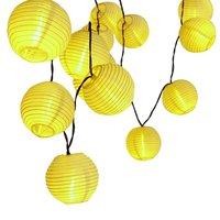 30 LED Lantern Ball Solar String Lights Solar Lamp Outdoor Lighting Fairy Globe Christmas Decorative Light