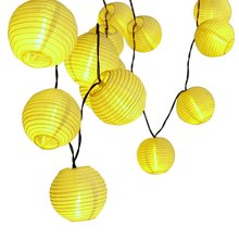 Holigoo 30 LED Lantern Ball Solar String Lights Outdoor Lighting Solar Lamp Fairy Globe Christmas Decorative