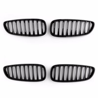 Areyourshop Car Front Bumper Sport Kidney Grille Grill For BMW Z4 E89 2009 2016 1Pair ABS