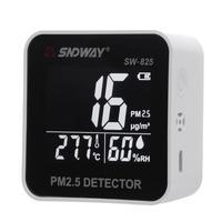 Digital Air Quality Monitor PM2.5 Detector Laser Particle Sensor Temperature Humidity Monitor Analyzer Meter