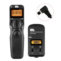 Pixel TW 283 N3 Wireless Timer Remote Control Shutter Release With Single Continuous Delay Shooting For