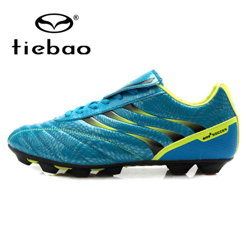 TIEBAO Professional Soccer Shoes For Children Children Kids Football Shoes FG & HG & AG Soles Football Boots Futsal Shoes health top soccer shoes kids football boots cleats futsal shoes adult child crushed breathable sport football shoes plus 36 45