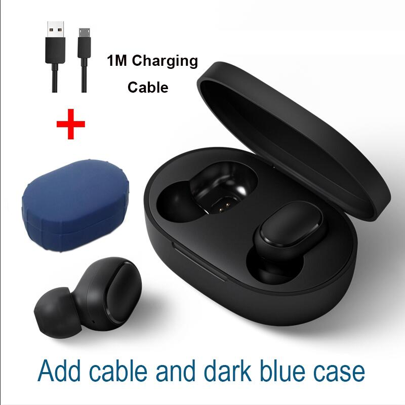 Cable dark blue case
