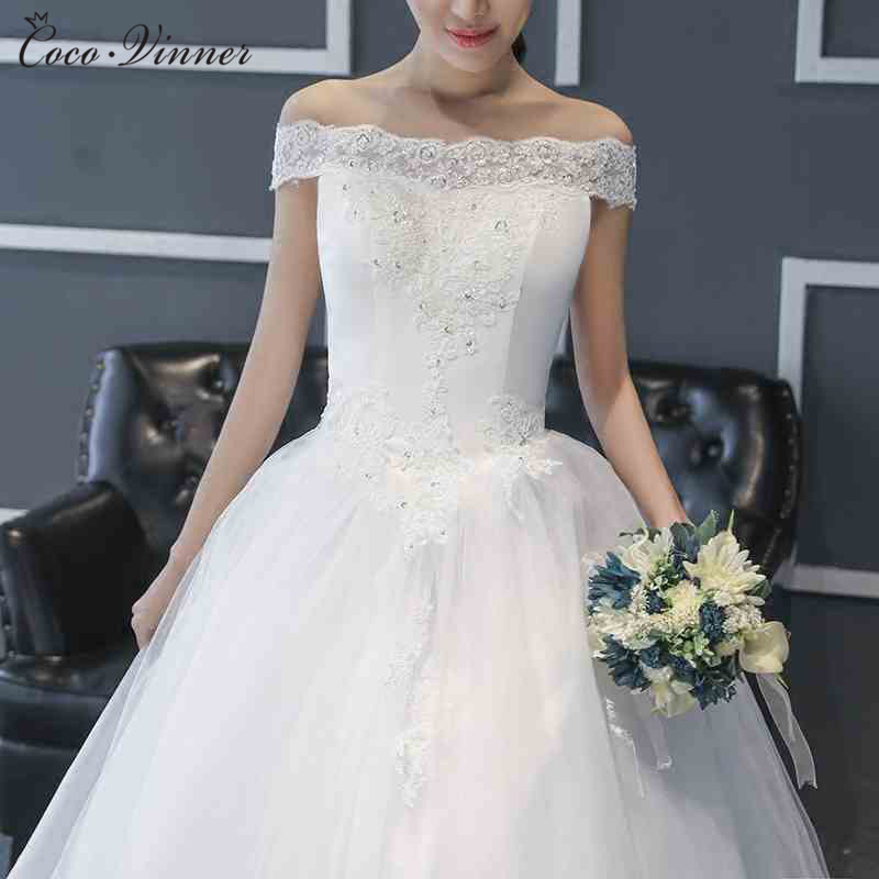 Plus Size Wedding Dresses With Color: C.V Korean Style Ball Gown Lace Wedding Dress 2017 Plus