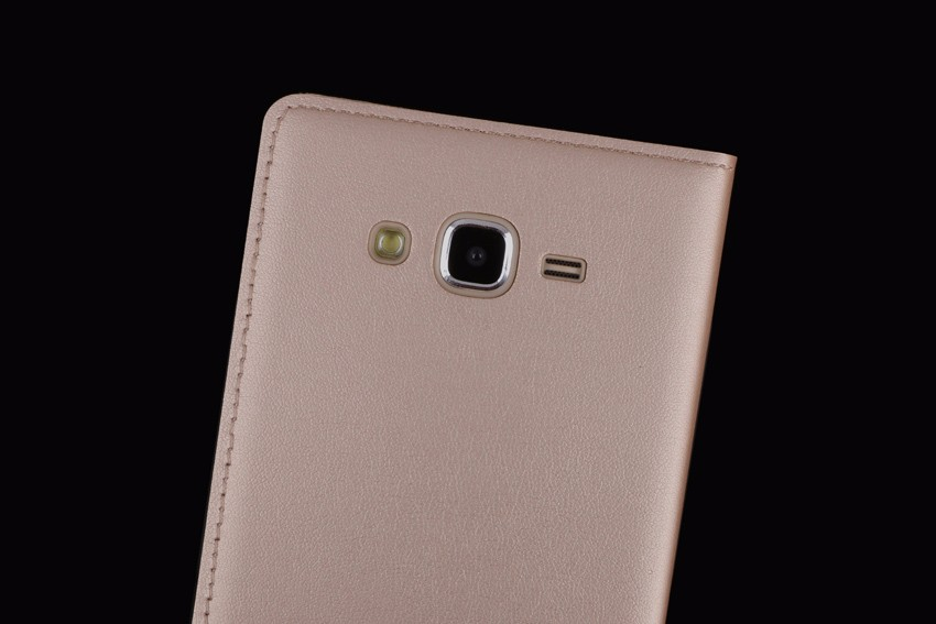 Slim View Window Flip Case for Samsung Galaxy J5 2015 - Բջջային հեռախոսի պարագաներ և պահեստամասեր - Լուսանկար 3