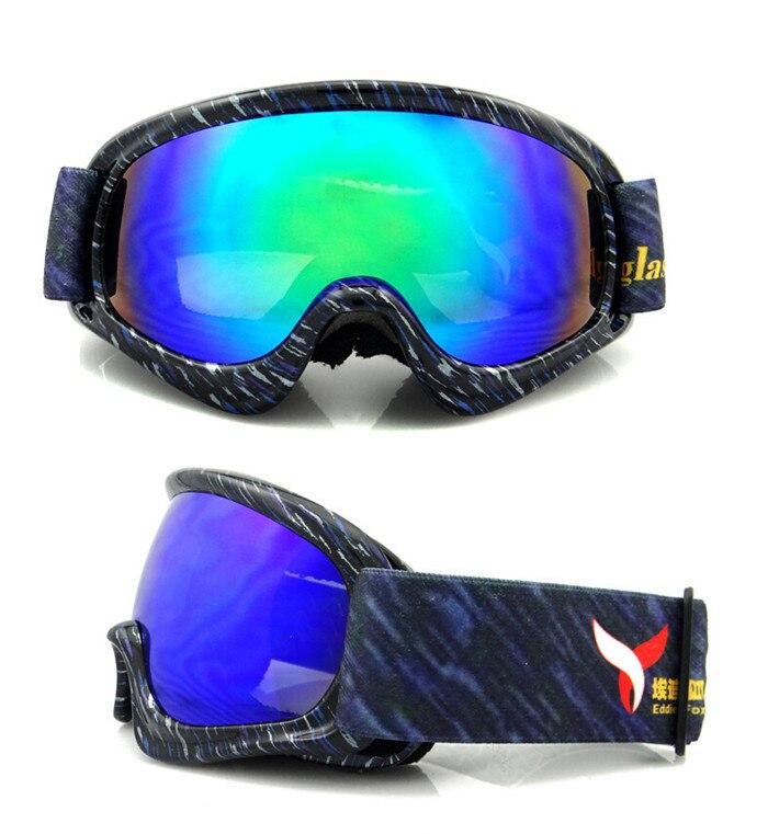 Prix pour Ski Lunettes pour Garçons Filles Placage Lentille, étudiant UV400 Snowboard Lunettes, enfants Adolescents Anti-brouillard Double Wear Sur RX Cadre
