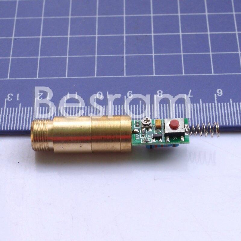 Dia.12mm 3,7 В-4,2 В 532nm Зеленый лазер 200 МВт модуль лазерная указка Диодная с Драйвером