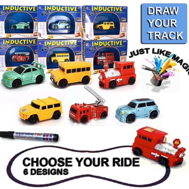 Fashional אוטומטי עקוב אחר לצייר ציורים - צעצוע כלי רכב