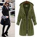 2016 trench coat para las mujeres abrigos de invierno mont bayan feminino casaco feminino femme manteau abrigos mujer abrigo largo más el tamaño