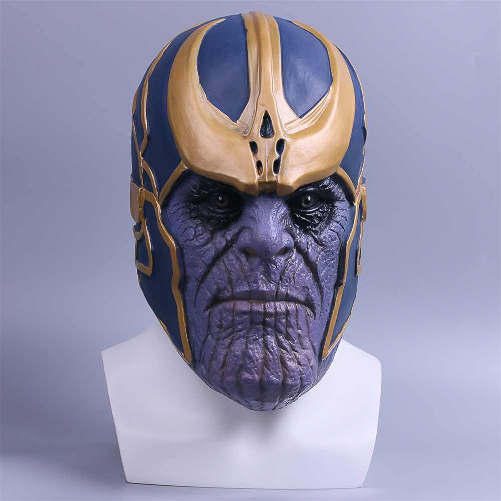 The Avengers Thanos Mask Halloween Party Masquerade Masks Cosplay Mascaras De Latex Realista Carnaval Mascara Scary Masque Movie