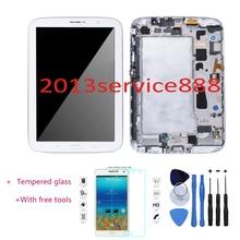 OEM LCD Affichage Écran Tactile Digitizer et Cadre Pour Samsung Galaxy Note 8 N5110 Wi-Fi Avec Outil Blanc