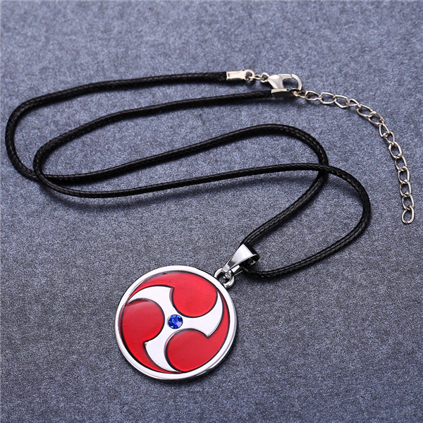 Naruto Uchiha Itachi Mangekyou Sharingan Pendant