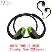 Huan Yun Bluetooth Earphone Wireless Ear Hook Sport IPX5 Waterproof Bluetooth Headphone Headset Stereo Bass With