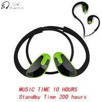 Huan Yun Bluetooth Earphone Wireless Ear Hook Sport IPX5 Waterproof Bluetooth Headphone Headset Stereo Bass With