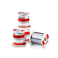 Kaisi 150G Rosin Cored Tin Wire 0.3/0.4/0.5/0.6mm, High Purity and Low Temperature, PCB Welding Tin Wire