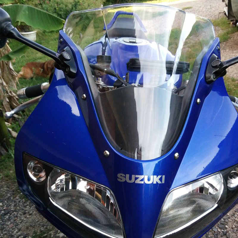 Motorcycle Wind Deflectors Windshield Windscreen For 2003 - 2012 Suzuki SV650S SV1000S SV 650 S 1000 SV650 SV1000 2008 2009 2011