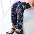 SheeCute Новое Прибытие Девушки леггинсы Дети печати цветочные брюки chinlren тощий полная длина карандаш брюки Для 3-7Y Девушки